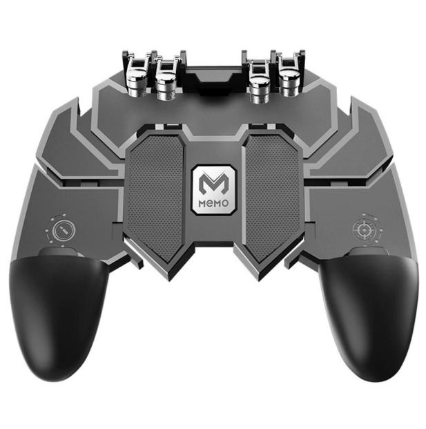 Ігровий контролер MEMO для смартфонів! Джойстик для PUBG з важелями і кнопками для сенсорних телефонів!