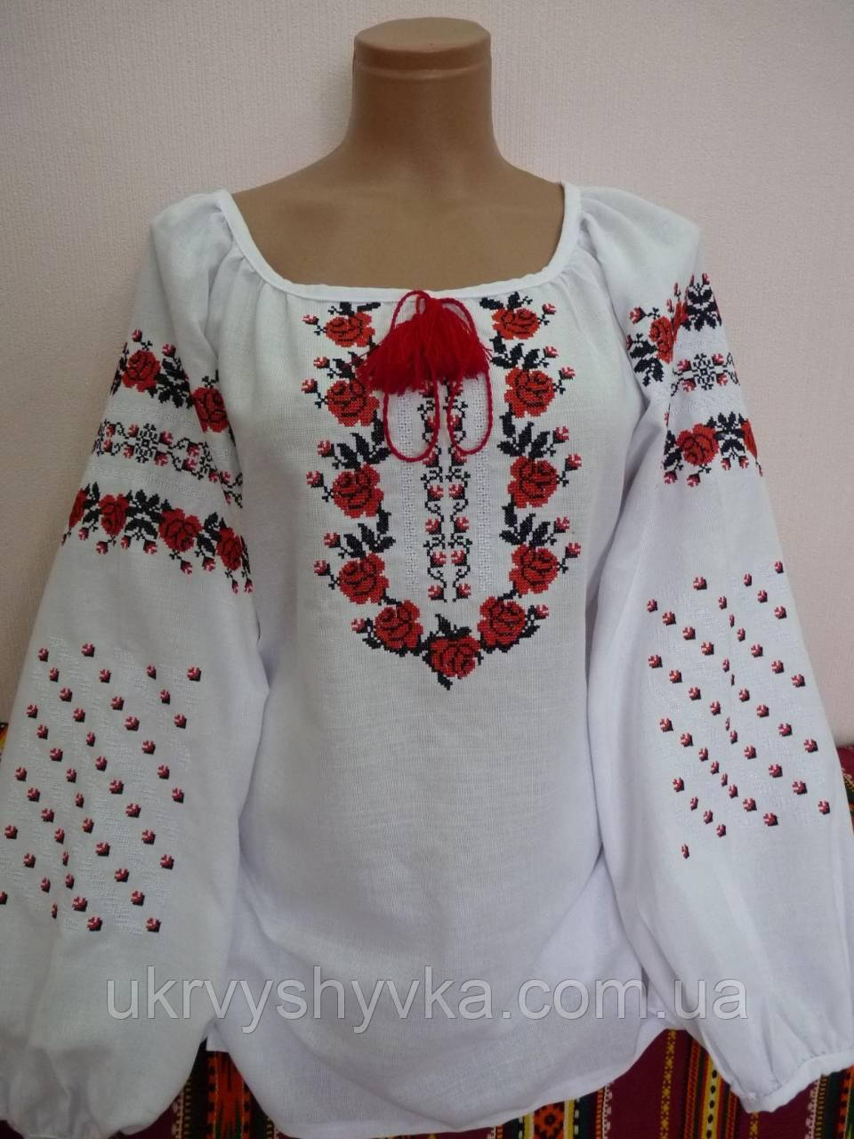 """Вишита жіноча сорочка """"Коломийська"""""""