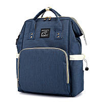 Сумка-рюкзак для мамы Maikunitu Mummy Bag многофункциональный органайзер Синий