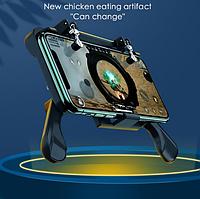 Портативный геймпад с вентилятором! Универсальный игровой контроллер для смартфона с кулером для охлаждения!
