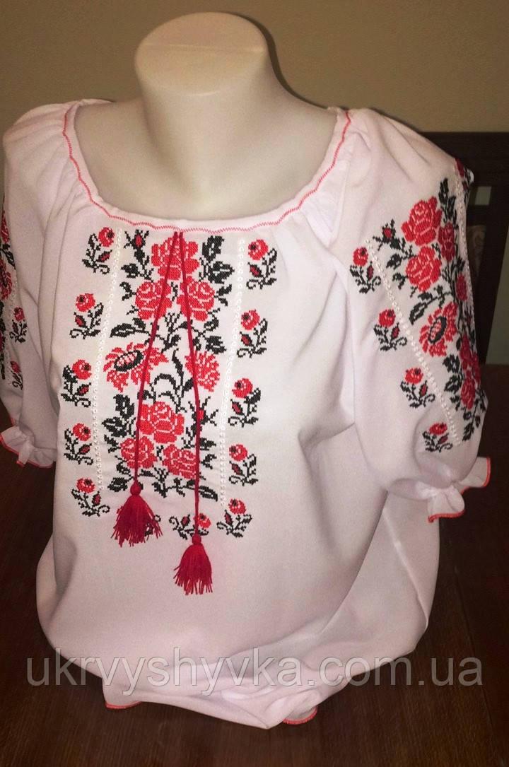 """Блузка вишиванка """"Квіткова"""""""