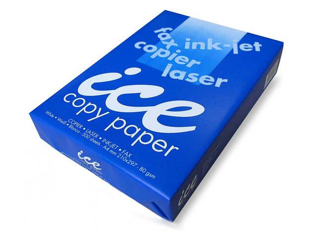 Бумага офисная А4, ICE Copy, 80 г/м2, 500 л.(Айс копи), фото 2