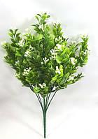 Белый барбарис 32см искусственный куст для декора, фото 1