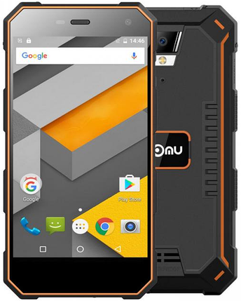 Nomu S10 2/16 Gb black-orange IP68 (сигма pq24), фото 2