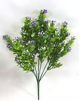 Фиолетовый барбарис 32см искусственный куст для декора