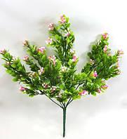 Розовый барбарис 32см искусственный куст для декора
