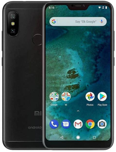 Мобильный телефон Xiaomi Mi A2 Lite 4/64GB Black (Международная версия)