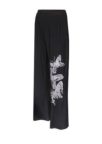 Трикотажные брюки для полных Бабочки