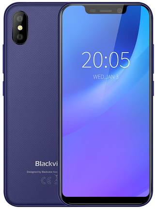 Blackview A30 2/16 Gb blue, фото 2