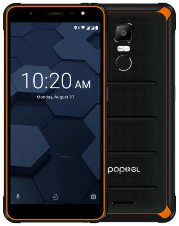 Poptel P10 4/64 Gb orange IP68