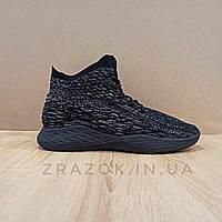 Черные мужские кроссовки носки в стиле Adidas yeezy boost v 2 носки на подошве ткань текстиль сетка