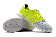 Футзалки (бампы) Nike Lunar Gato II IC Volt/Black/Wolf Grey, фото 1