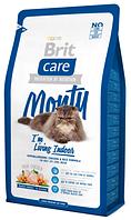 Корм для котов Brit Care Cat Monty I am Living Indoor 400 г, брит для кошек живущих в помещении