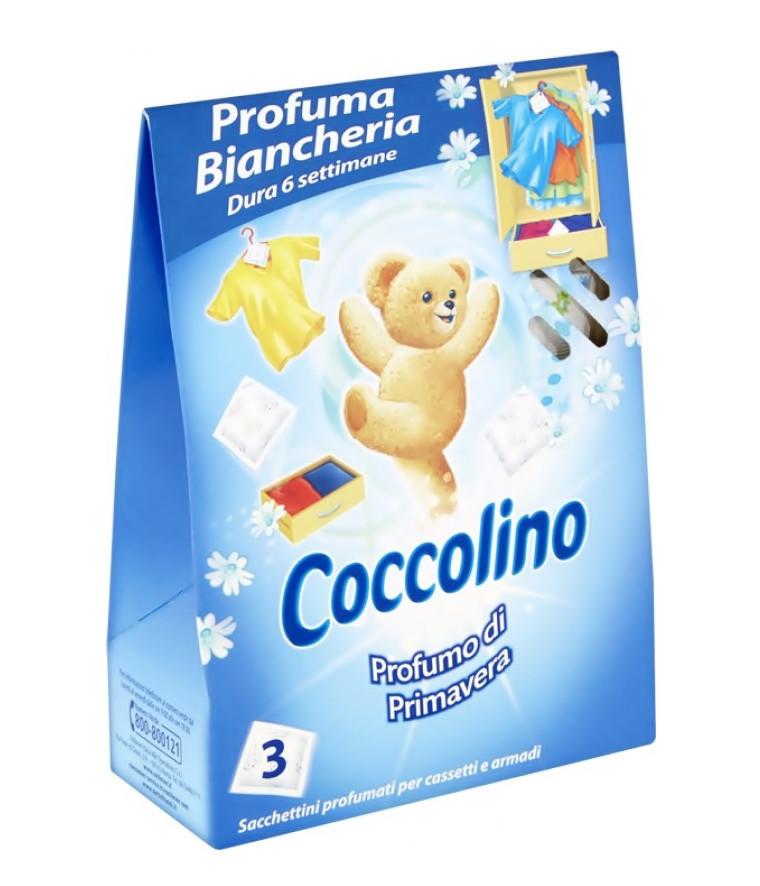 Парфумовані серветки - освіжувачі для гардероба Coccolino Parfumo di Primavera