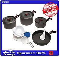 Набор посуды из анодированного алюминия Tramp TRC-026, фото 1