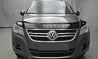 Мухобойка +на капот  VW Tiguan с 2008 г.в. (Фольксваген Тигуан) Vip Tuning