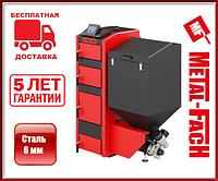 Котел на угле с автоподачей METAL-FACH SD DUO 16, 20, 28, 34, кВт