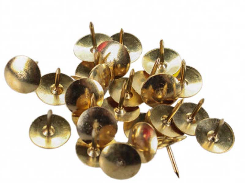 Кнопки золото LEADER (50шт в пачке) 10 пачек