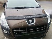 Дефлектор капота Peugeot 3008 с 2009–2016 г.в. Vip Tuning