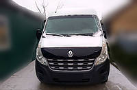 Дефлектор капота Renault Master с 2014 г.в. Vip Tuning