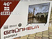 Телевизор Grunhelm G40FSFL7 Frameless SMART TV Full HD 1920х1080, фото 4
