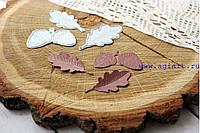 """Ножи для вырубки """"дубовые листья и жёлуди"""" от AgiArt"""