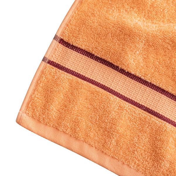 полотенце махровое для лица персиковое