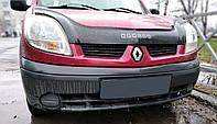 Дефлектор капота Renault Kangoo с 2003-2007 г.в.после ресталинга Vip Tuning