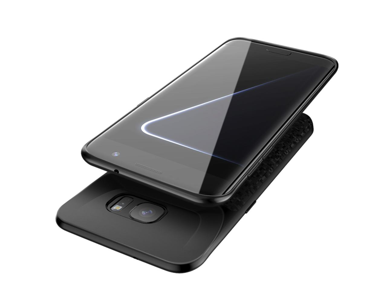 Чехол-аккумулятор XON PowerCase для Samsung Galaxy S7 Edge 5000 mAh Black