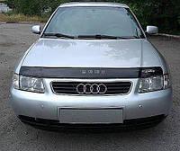 Мухобойка +на капот  AUDI A3 (кузов 8L) с 1996-2003 г.в. (Ауди А3) Vip Tuning