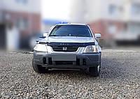 Мухобойка +на капот  HONDA CR-V 1995-2002 г.в. (Хонда ЦР-В) Vip Tuning