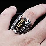 Кольцо серебряное Падший Ангел КЦ-42 Б, фото 2