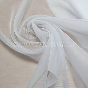 Ткань шифон вуаль для штор белый