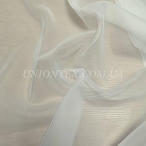 Ткань шифон вуаль для штор молочный