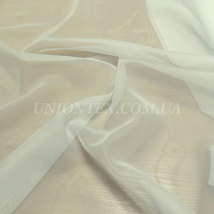 Ткань шифон вуаль для штор айвори, фото 2