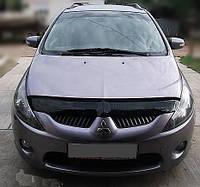 Дефлектор капота Mitsubishi Grandis с 2003–2011 г.в. (Митсубиси грандис) Vip Tuning