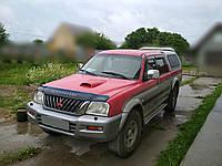 Дефлектор капота Mitsubishi L200 с 1996-2006 г.в. (Митсубиси л200) Vip Tuning