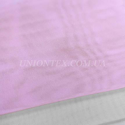 Ткань шифон вуаль для штор светло-розовый, фото 2