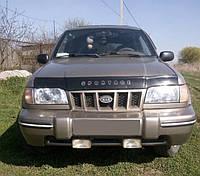 Дефлектор капота KIA Sportage с 1994 – 2003 г.в.;1998-2008 сборка в Калининграде (Киа Спортейдж) Vip Tuning