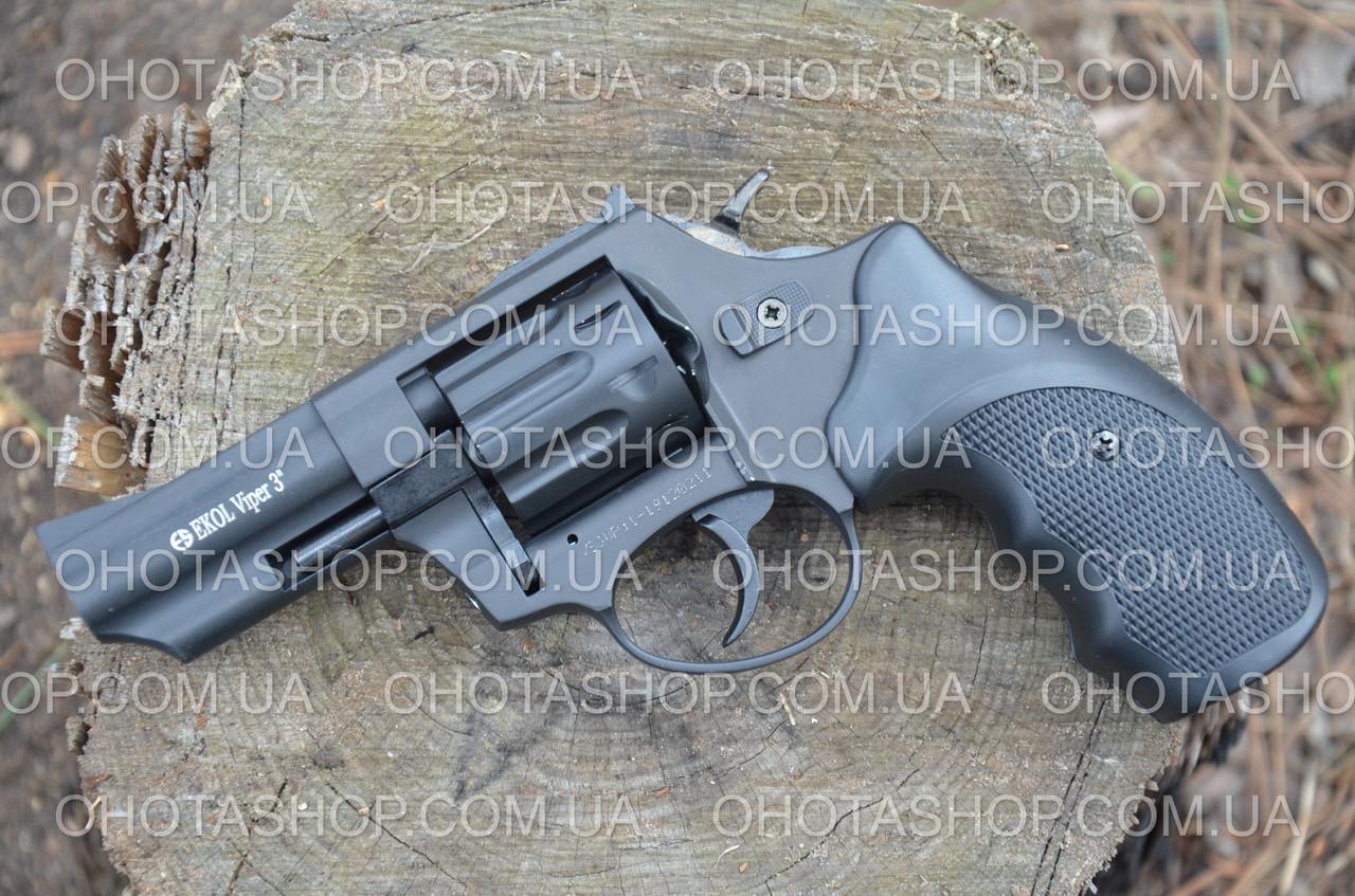 Револьвер под патрон Флобера Ekol Viper 3 (Black)