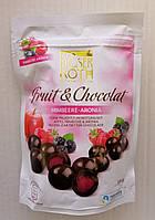 Шоколадное драже Moser Roth Himbeere Aronia с ягодным мармеладом внутри, 180 гр.