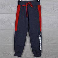 """Спортивные штаны детские """"Ferrari реплика"""" 5-6-7-8-9 лет (110-134 см). Серый меланж. Оптом"""