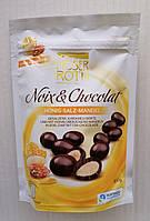 Миндаль в черном шоколаде Moser Roth Honig Salz Mandel с медом и солью, 160 гр.