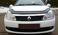 Дефлектор капота Renault Symbol с 2012 г.в. (Рено Симбол) Vip Tuning