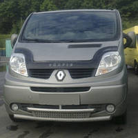 Дефлектор капота Renault Trafic с 2001 г.в. (Рено Трафик) Vip Tuning