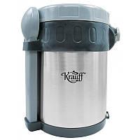 Термос для еды Krauff 26-178-045 2 л 3 емкости