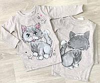 Плаття для дівчинки з котиком з 2,6 років
