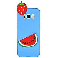 Чехол Cartoon 3D Case для Samsung G950 Galaxy S8 Арбуз