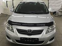 Дефлектор капота TOYOTA Corolla c 2007-2014 г.в. (Тойота Корола) Vip Tuning
