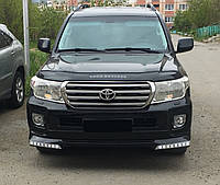 Дефлектор капота TOYOTA Land Cruiser 200 с 2007 г.в. (Тойота Ленд Крузер 200) Vip Tuning